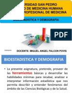 Bioestadistica y Demografia Clase 1 13 03 2015 Poblacion y Muestra