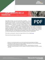 Curso Don Quijote de La Mancha Lectura, Analisis e Interpretacion