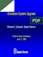 Basler Elect Excitation System Upgrade Frame6UG09