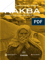 Nakba. Palestina, 1948, y los reclamos de la memoria - Ahmad H. Saadi & Lila Abu-Lughod [Editores]