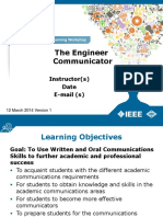 Alw the Engineer Communicator Powerpoint