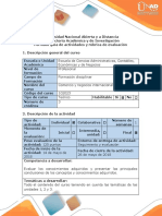 Guía de Actividades y Rúbrica de Evaluacion - Tarea 5 - Evaluacion Final Hacer Un Vídeo
