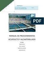 Manual de Procedimientos Acueducto y Alc
