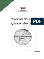 Geometria Descritiva Aplicada - Exercícios