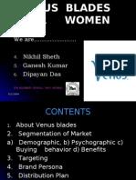 "Product Launch ""VENUS  BLADES  FOR WOMEN' ITM Business School"
