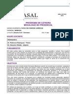 Programa de Derecho Civil Contratos