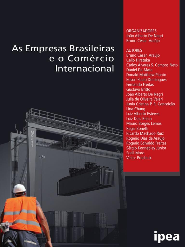 As Empresas Brasileiras e o Comércio Internacional ea3e51150a
