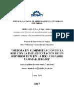 000831354 Mejora Del Sistema de Comunicación Con El Control de Acceso y Monitoreo de Redes