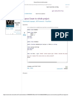 Expose Enum to Whole Project
