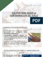 Equipos Para Medir La Contaminacion Del Suelo