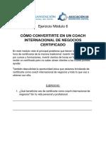 Como Ser Coach Internacional.