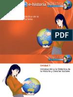 Unidad 1 - Introducción a La Didáctica de La Historia y Ciencias Sociales - Parte 2 (1)