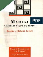Marisa - A Escolha Sexual Da Meina - Rosine e Robert Lefort