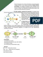 Enlaces Químicos I.E. San Isidro