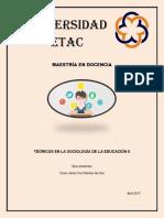 Teóricos en La Sociología de La Educacción 2
