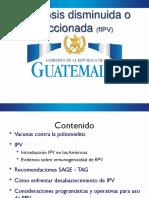 Vacuna IPV fraccionada fIPV