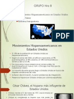 Movimientos Hispanoamericanos en Estados Unidos