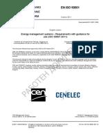 EN ISO 50001