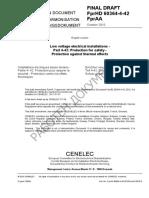 FprHD 60364-4-42