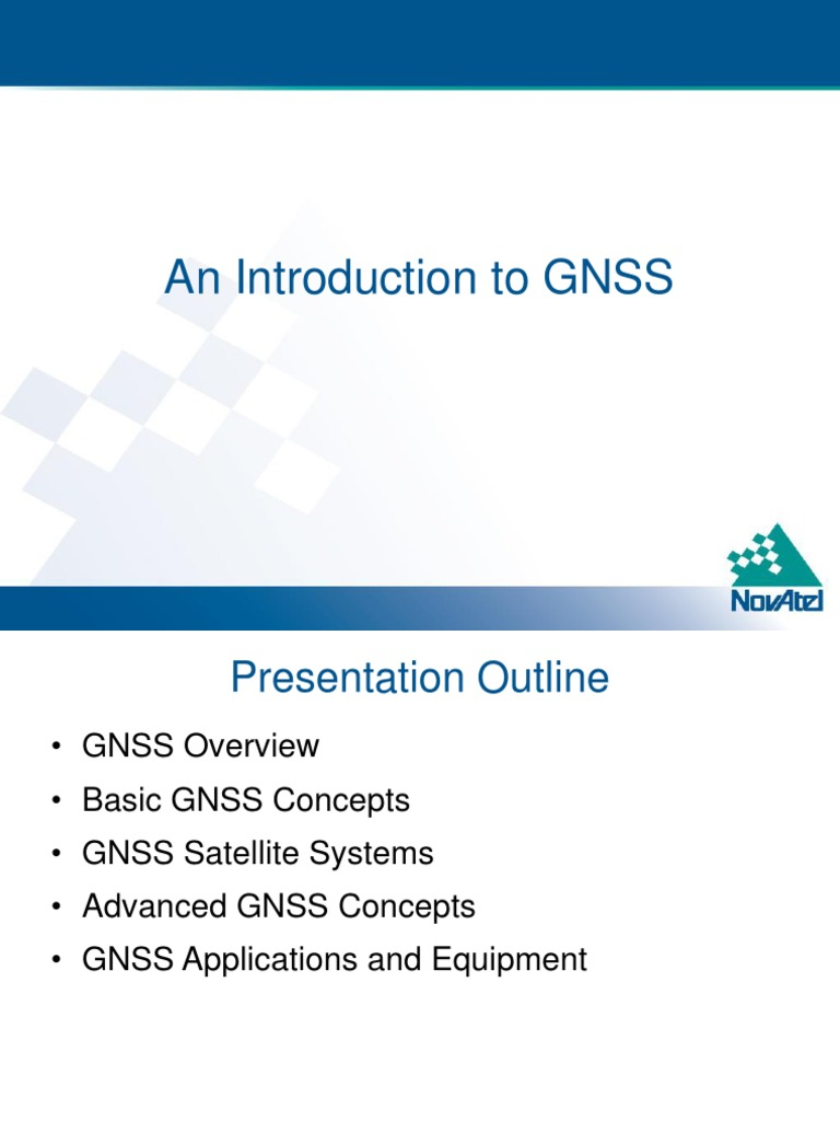 An Introduction to GNSS | Global Positioning System | Radio Propagation
