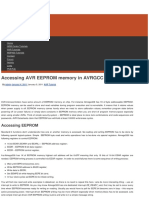 Accessing AVR EEPROM Memory in AVRGCC