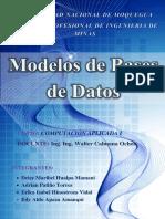Word de Modelo de Base de Datos