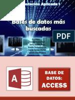 bases de Datos Mas Usadas