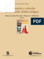 Adivinación y Oráculos en El Mundo Andino Antiguo