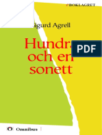 Sigurd Agrell  - Hundra en sonett [ poesi ] [1a tryckta utgåva 1906, Senaste tryckta utgåva =, 115 s. ]