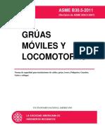 Asme b30.5-2011 Grua Movil Español