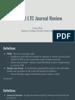 copy of ltc journal review