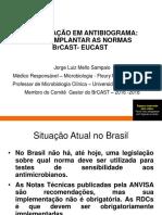 Atualização Em Antibiograma Como Implantar as Normas BrCAST e EUCAST