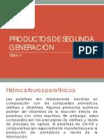 Productos de Segunda Generacion