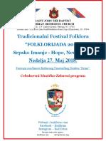 flyer folklor festival srpski 5-27-18