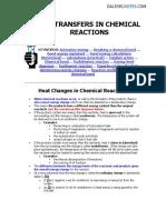 Chemical Energy(1)