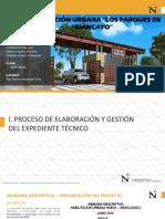 Trabajo de Investigacion Habilitaciòn Urbana Los Parques de Huancayo - Derecho Urbanistico