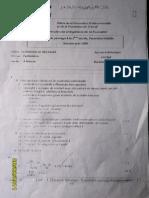 Corrigè-Examen de Passage 2006