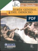 TEORIA GENERAL DEL DERECHO EGACAL  ANIBAL BARRENECHEA SANTILLAN