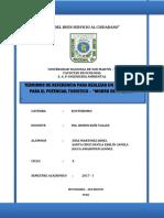 TERNIMOS DE TERMINOS DE REFERENCIA PARA REALIZAR UN DIAGNOSTICO PARA UNA AREA PROTEGIDAS (Autoguardado).docx