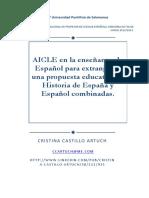 AICLE en La Enseñanza de Español Para Extranjeros. Una Propuesta Educativa