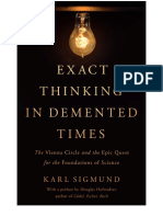 Karl Sigmund Douglas Hofstadter Exact Thinking in Demented Times the Vienna Circle and the Epic Qu