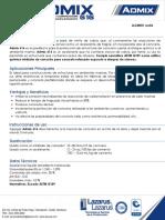 LLCMS01 Admix 616 Rev06