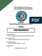Fichas Bibliograficas Articulo Academico Pedagogico