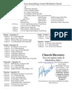 Weekly Calendar 9-26-10