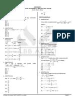 Simulasi 3 Matematika Dasar