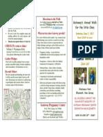 Walk 2018 3 Fold Brochure Church