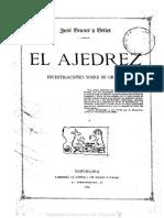 El ajedrez investigaciones sobre su origen