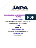 315534605 Tarea III Didactica Espacial de La s Ciencias de La Naturaleza Johanny Rubio