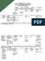 Poa Área de Cc Nn 2018 - 2019