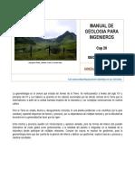 manual de geología para ingenieros